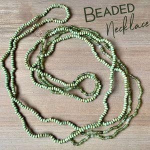 Vintage beads beaded necklace bundle lot